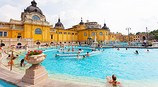 Szchenyi Baths, Hungary