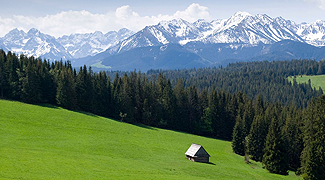 The Tatra Mountains and the Podhale Region